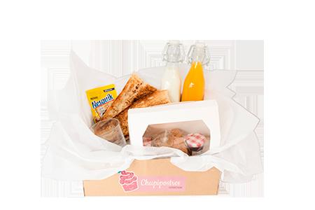 Caja de desayuno clásico