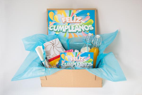 Caja personalizada - feliz cumpleaños
