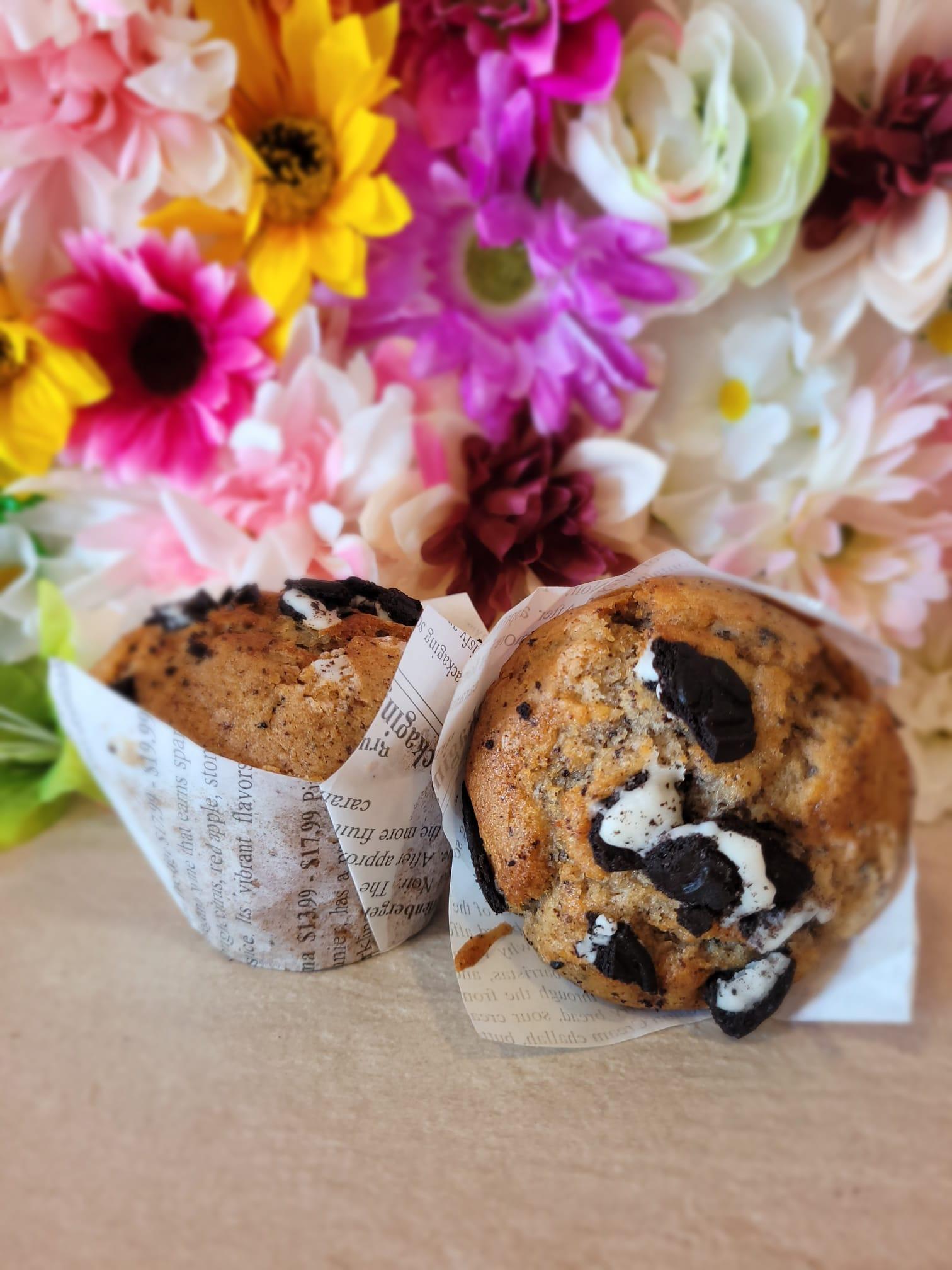 Muffin de Oreo Vegano